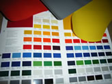 PVC colour range